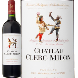 ワイン 赤ワイン 2010年 シャトー・クレール・ミロン フランス ボルドー ポイヤック 750ml
