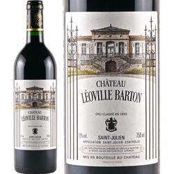 ワイン 赤ワイン 2012年 シャトー・レオヴィル・バルトン フランス ボルドー サン・ジュリアン 750ml