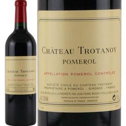 ワイン 赤ワイン 2000年 シャトー・トロタノワ フランス ボルドー ポムロル 750ml
