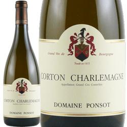 ワイン 白ワイン 2015年 コルトン・シャルルマーニュ グラン・クリュ / ポンソ フランス ブルゴーニュ アロース・コルトン 750ml