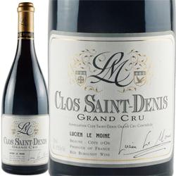 ワイン 赤ワイン 2013年 クロ・サン・ドニ グラン・クリュ / ルシアン・ル・モワンヌ フランス ブルゴーニュ モレ・サン・ドニ 750ml