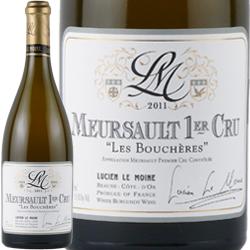 ワイン 白ワイン 2011年 ムルソー プルミエ・クリュ レ・ブシェール / ルシアン・ル・モワンヌ フランス ブルゴーニュ ムルソー 750ml