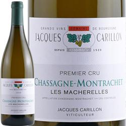 ワイン 白ワイン 2016年 シャサーニュ・モンラッシェ プルミエ・クリュ レ・マシュレール / ジャック・カリヨン フランス ブルゴーニュ シャサーニュ・モンラッシェ 750ml