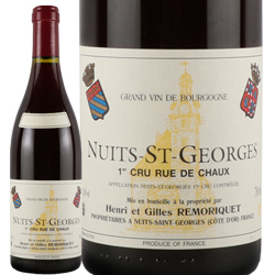 ワイン 赤ワイン 1996年 ニュイ・サン・ジョルジュ プルミエ・クリュ リュー・ド・ショー / ドメーヌ・ルモリケ フランス ブルゴーニュ ニュイ・サン・ジョルジュ 750ml