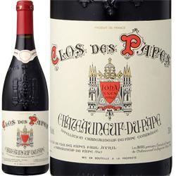 ワイン 赤ワイン 2016年 シャトーヌフ・デュ・パプ クロ・デ・パプ・ルージュ / クロ・デ・パプ (ポール・アヴリル) フランス ローヌ 750ml