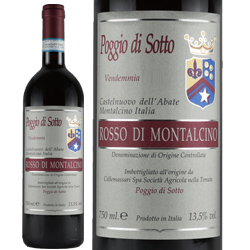 ワイン 赤ワイン 2015年 ロッソ・ディ・モンタルチーノ / ポッジョ・ディ・ソット イタリア トスカーナ モンタルチーノ 750ml