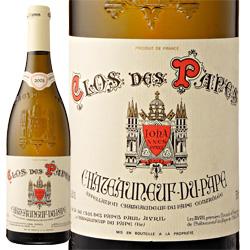 ワイン 白ワイン 2015年 シャトーヌフ・デュ・パプ クロ・デ・パプ・ブラン / クロ・デ・パプ (ポール・アヴリル) フランス ローヌ 750ml