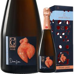 ワイン ロゼ スパークリング シャンパン アンリ・ジロー ロゼ ダム・ジャンヌ [ボックス付] / アンリ・ジロー フランス シャンパーニュ 750ml