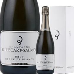 ワイン スパークリングワイン 泡 シャンパン ビルカール・サルモン ブリュット ブラン・ド・ブラン [ボックス付き] / ビルカール・サルモン フランス シャンパーニュ 750ml