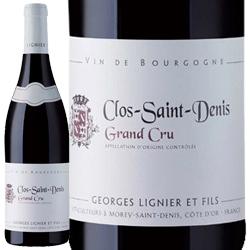 ワイン 赤ワイン 2011年 クロ・サン・ドニ グラン・クリュ / ジョルジュ・リニエ フランス ブルゴーニュ モレ・サン・ドニ 750ml