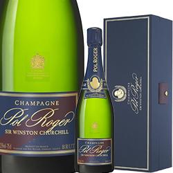 ワイン スパークリングワイン 泡 シャンパン 2008年 ポル・ロジェ キュヴェ・サー・ウィンストン・チャーチル [ボックス付] / ポル・ロジェ フランス シャンパーニュ 750ml