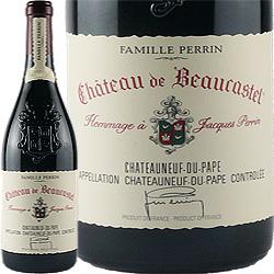 ワイン 赤ワイン 2015年 シャトーヌフ・デュ・パプ オマージュ・ア・ジャック・ペラン / シャトー・ド・ボーカステル フランス ローヌ 750ml