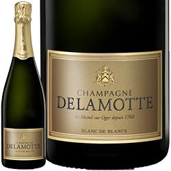 ワイン スパークリングワイン 泡 シャンパン 2008年 ドゥラモット・ブリュット ブラン・ド・ブラン・ミレジメ ボックス付 / サロン / ドゥラモット フランス シャンパーニュ 750ml