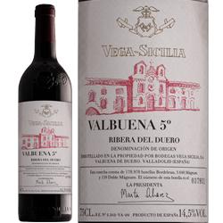 ワイン 赤ワイン 2009年 バルブエナ・シンコ・アニョス / ベガ・シシリア スペイン リベラ・デル・ドゥエロ 750ml