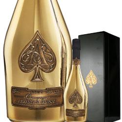 ワイン スパークリングワイン 泡 シャンパン アルマン・ド・ブリニャック・ブリュット・ゴールド [ボックス付] フランス シャンパーニュ 750ml