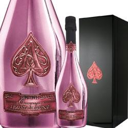 ワイン ロゼ スパークリング シャンパン アルマン・ド・ブリニャック・ロゼ [ボックス付]  フランス シャンパーニュ 750ml