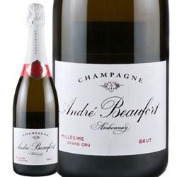 ワイン スパークリングワイン 泡 シャンパン 1999年 アンドレ・ボーフォール・ブリュット / アンドレ・ボーフォール フランス シャンパーニュ 750ml