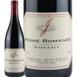 ワイン 赤ワイン 2016年 ヴォーヌ・ロマネ ボシエール / ジャン・グリヴォ フランス ブルゴーニュ ヴォーヌ・ロマネ 750ml