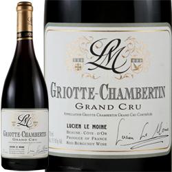 ワイン 赤ワイン 2017年 グリオット・シャンベルタン グラン・クリュ / ルシアン・ル・モワンヌ フランス ブルゴーニュ ジュヴレ・シャンベルタン 750ml