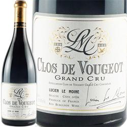ワイン 赤ワイン 2017年 クロ・ド・ヴージョ グラン・クリュ / ルシアン・ル・モワンヌ フランス ブルゴーニュ ヴージョ 750ml