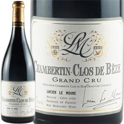 ワイン 赤ワイン 2017年 シャンベルタン・クロ・ド・ベーズ グラン・クリュ / ルシアン・ル・モワンヌ フランス ブルゴーニュ ジュヴレ・シャンベルタン 750ml