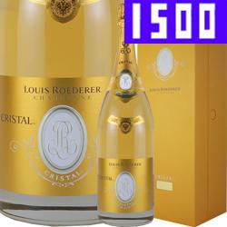 ワイン スパークリングワイン 泡 シャンパン 2009年 ルイ・ロデレール クリスタル [ボックス付] [マグナムボトル] / ルイ・ロデレール フランス シャンパーニュ 1500ml