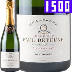 ワイン スパークリングワイン 泡 シャンパン ポール・デテュンヌ ブリュット・ナチュール [マグナムボトル] / ポール・デテュンヌ フランス シャンパーニュ 1500ml