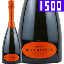 ワイン スパークリングワイン 泡 フランチャコルタ・アルマ・キュヴェ・ブリュット [マグナムボトル] / ベラヴィスタ イタリア ロンバルディア 1500ml