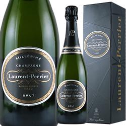 ワイン スパークリングワイン 泡 シャンパン 2007年 ローラン・ペリエ ブリュット・ミレジメ [ボックス付] / ローラン・ペリエ フランス シャンパーニュ 750ml