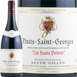 ワイン 赤ワイン 2012年 ニュイ・サン・ジョルジュ オー・ポワレ / ジャイエ・ジル フランス ブルゴーニュ ニュイ・サン・ジョルジュ 750ml