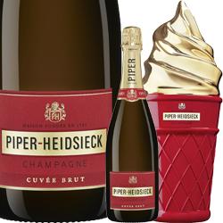 ワイン スパークリングワイン 泡 シャンパン パイパー・エドシック キュヴェ・ブリュット アイスクリーム・クール・ボックス [ボックス付] / パイパー・エドシック フランス シャンパーニュ 750ml