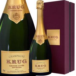ワイン スパークリングワイン 泡 シャンパン クリュッグ グランド・キュヴェ [ボックス付] / クリュッグ フランス シャンパーニュ 750ml
