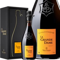 ワイン スパークリングワイン 泡 シャンパン 2008年 ヴーヴ・クリコ・ラ・グランダム [ボックス付] / ヴーヴ・クリコ フランス シャンパーニュ 750ml