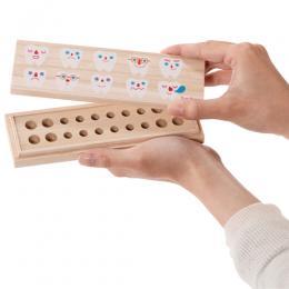別倉庫からの配送 お子さまの乳歯を大切に保管できます Solby ソルビィ桐箱乳歯ケース たまて歯庫 限定モデル