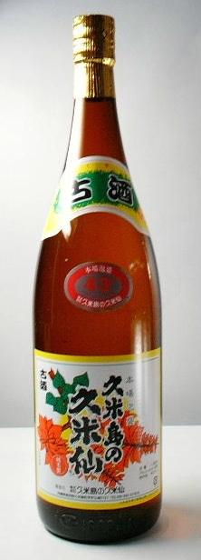 【送料無料・カンガルー便限定】 「久米島の久米仙 古酒 でいご 43度」 1800ml 6本セット
