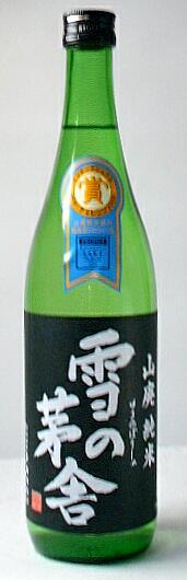 【秋田の地酒】「雪の茅舎 山廃純米酒」 720ml 12本セット