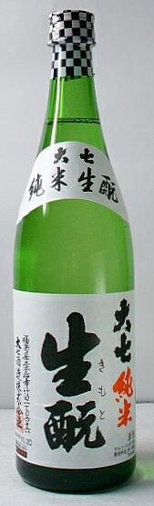 【送料無料・カンガルー便限定】人気酒「大七 生もと純米」 720ml 12本セット