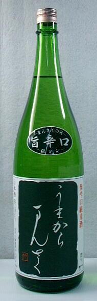【秋田の地酒】「まんさくの花 うまからまんさく」1.8l 6本セット