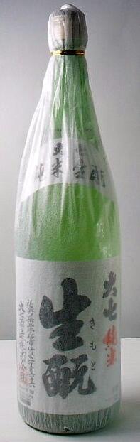 【送料無料・カンガルー便限定】 福島の地酒「「大七 生もと純米酒」」 1800ml 6本セット