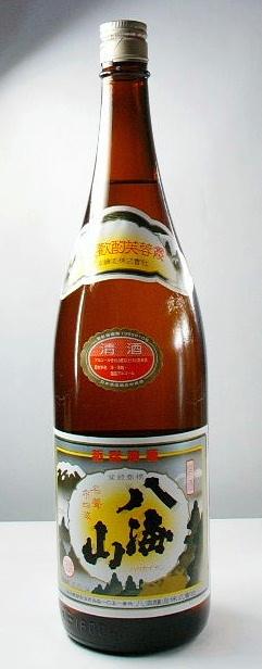 【越後の地酒】「清酒 八海山」1.8l 6本セット