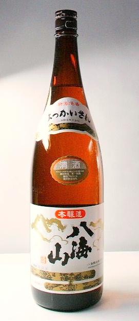 【越後の地酒】「八海山 特別本醸造」1.8l 6本セット