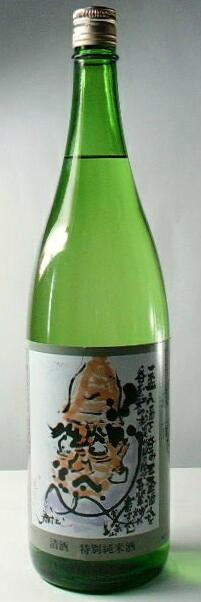 【送料無料・カンガルー便限定】人気の地酒「蓬莱泉 特別純米酒 可」1.8l 6本セット