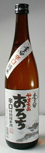 【出雲の地酒】「李白 辛口純米酒 やまたのおろち」720ml 12本セット