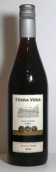テラ・ベガ ピノ・ノワール 750ml 12本セット【本州内送料無料 ハイコスパ チリワイン】