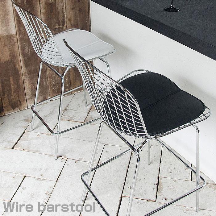 送料無料 リプロダクト ワイヤーチェア ワイヤースツール ハリー・ベルトイア リプロ チェア 椅子 スツール カウンターチェア バーチェア ハイチェア チェアー キッチン ハイスツール