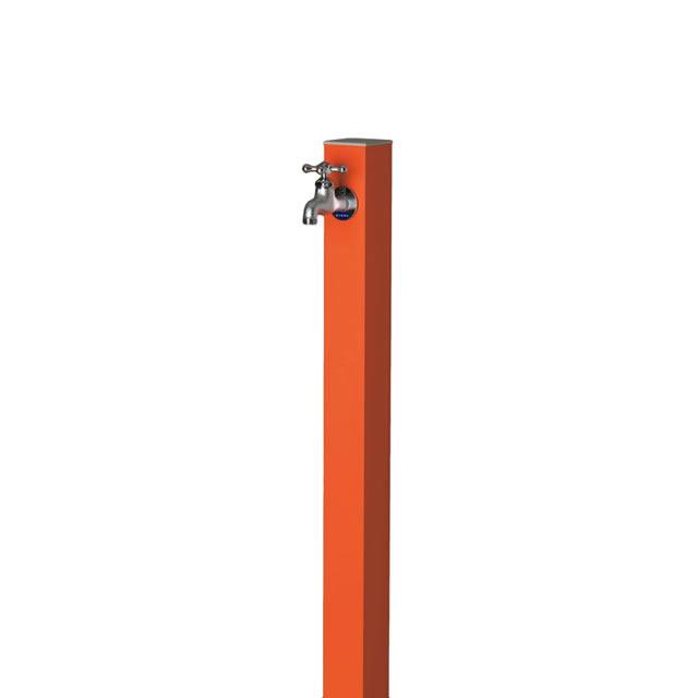 オンリーワン アルミ立水栓 Lite 蛇口セット GM3-ALMOF マンダリンオレンジ色