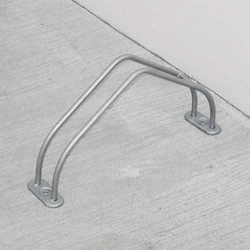 ダイケン 自転車ラック サイクルスタンド 独立式スタンド 1台用 スタンド小タイプ CS-MU1A-S ステンレス製