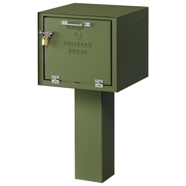 美濃クラフト 宅配BOX80 DEPO デポ DP-80 南京錠付き