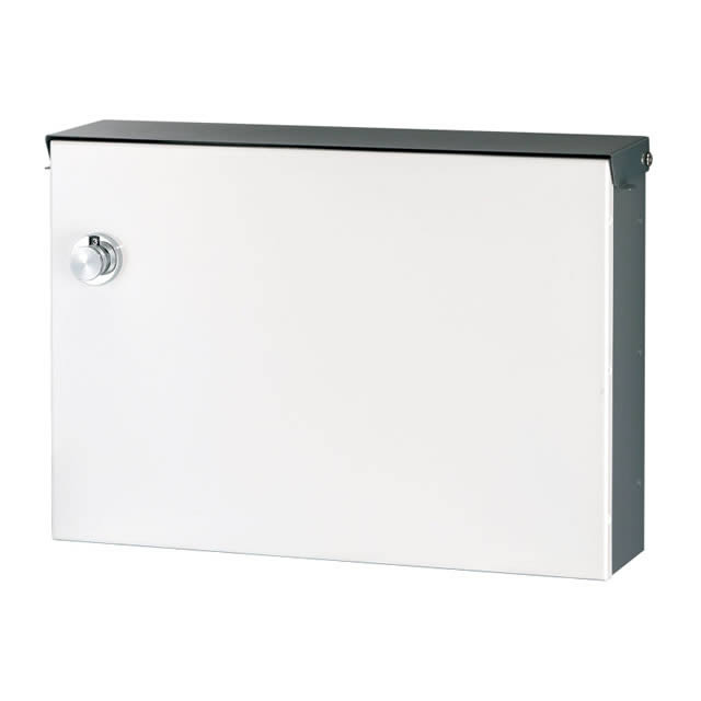 オンリーワン 郵便ポスト Locker ロッカー ピュアホワイト色 左開き(右吊元) GM1-E30-105L ダイヤル錠付き