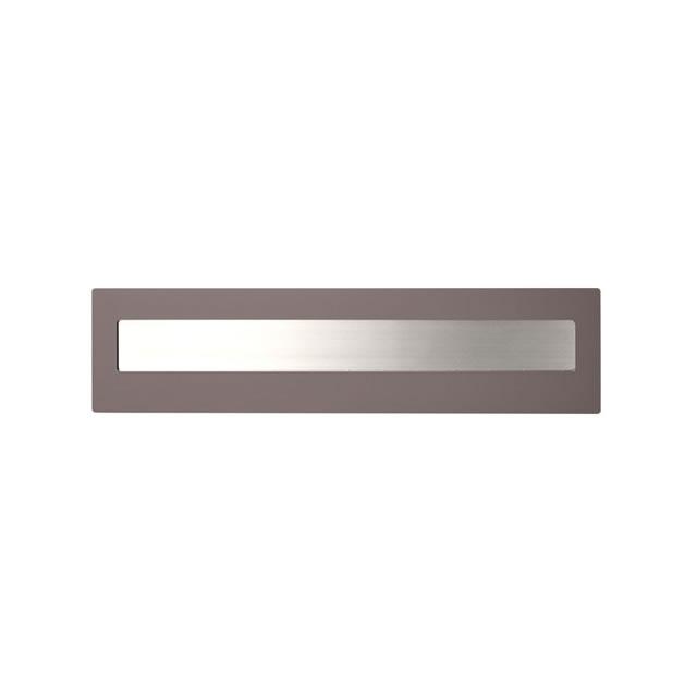 オンリーワン 口金ポスト ネーベル GM1-KN2B15-3 ココアマット色 ダイヤル錠付き